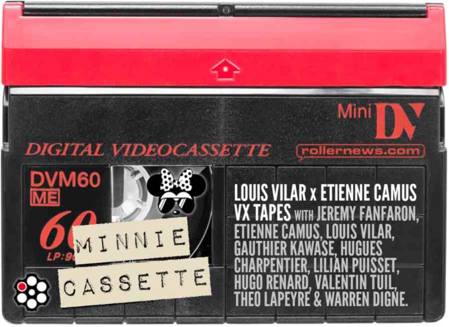 Minnie Cassette - Louis Vilar x Etienne Camus VX Tapes (2021, France) - La Roulette Edit by Jeremy Fanfaron