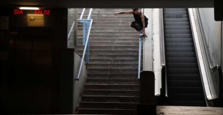 Xavi Eguino on USD Carbon Free Carlos Bernal Skates (2021) Edit by Dexter