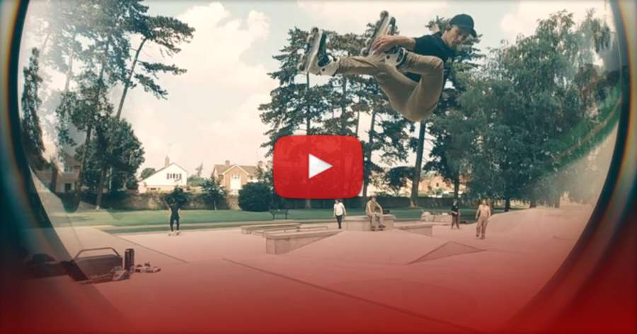 Damon Auger - Woooosh Skates Introduction (2021) by Nik Shand