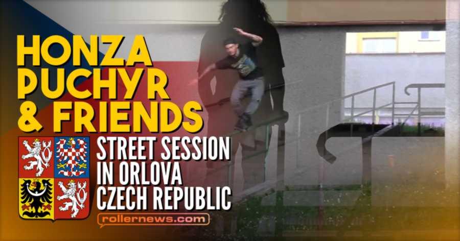Honza Puchýř & Friends - Blading Street Session in Orlová (Czech Republic, July 2021)