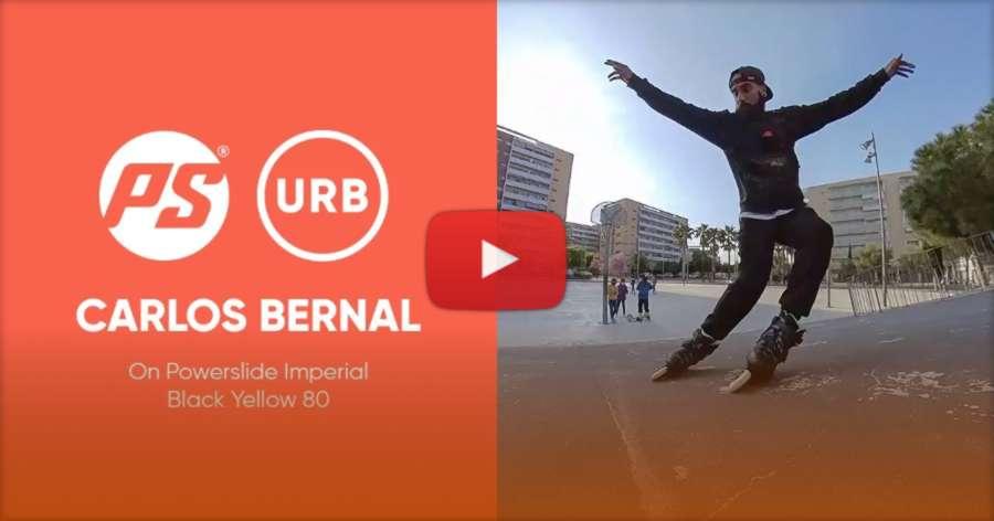 Carlos Bernal on Powerslide Imperial Black Yellow 80 (2021) - Big Wheels