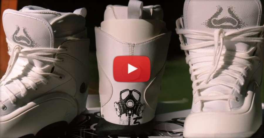 2021 Remz HR 2.5 White Skates - Unboxing Overview & Custom Setup by Rob Kellett