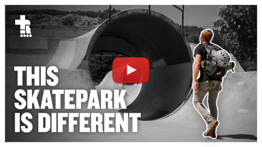 A skatepark with 3 Full Pipes! Myrtle Creek, Oregon