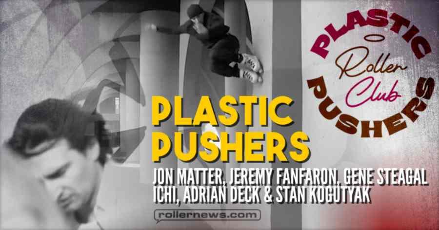 Plastic Pushers - Freaks on Blades (2021) by Cavin Brinkman