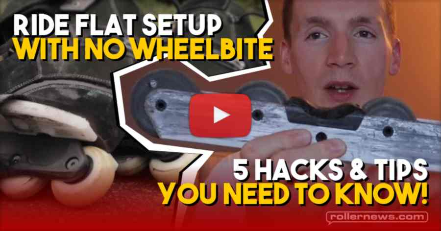 Ride Flat Setup with No WHEELBITE | 5 Hacks & Tips You Need to Know!