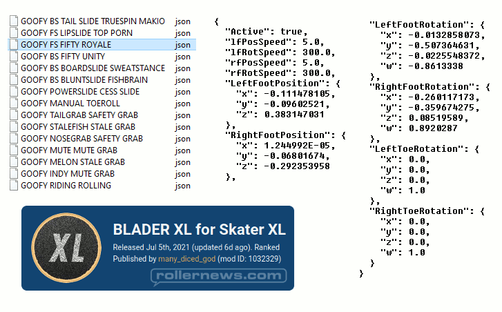 Blader Xl - The New Rollerblading Mod for Skater XL