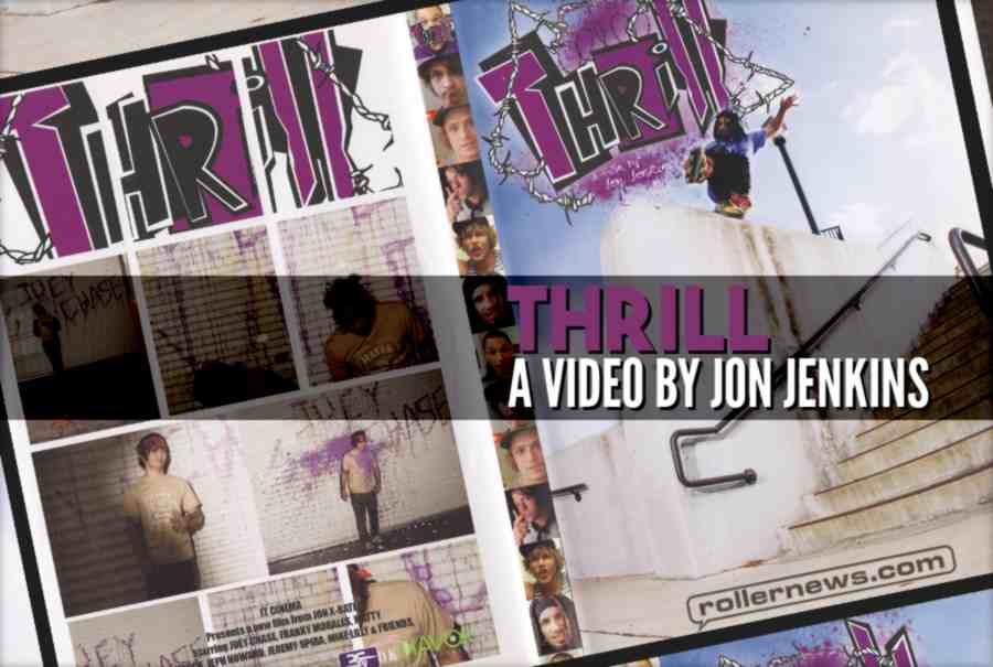 Franky Morales - Thrill Section (200x), A video by Jon Jenkins