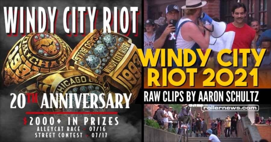 Windy City Riot 2021 - Raw Clips by Aaron Schultz