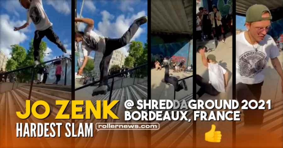 Jo Zenk - Hardest Slam @ the Shred da Ground (Bordeaux, France, 2021)