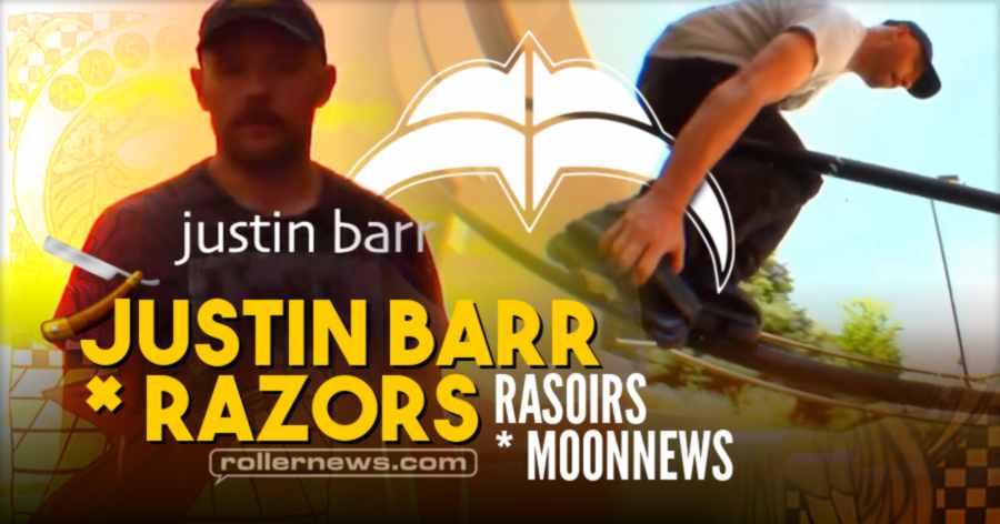 Justin Barr & Razors Skate Co: Rasoirs x Moonnews Tee (Denver, 2021) - Edit by Geoff Phillip