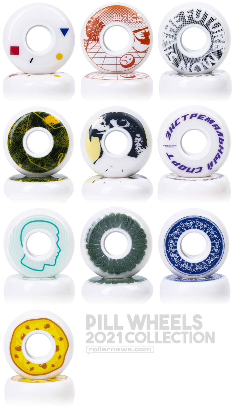 Pills Wheels - 2021 Collection