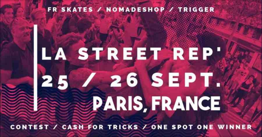 La Street Rep' 2021 (Paris, France) - Flyer & Facebook Event