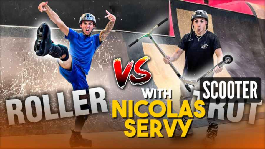 Scooter vs Rollerblades, with Nicolas Servy (2021)