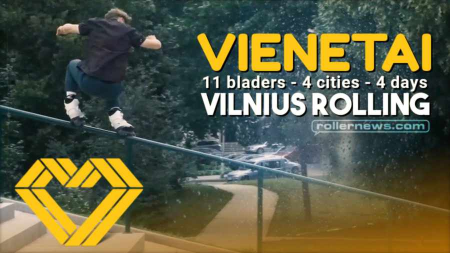 Vienetai (Lithuania, 2021) - 11 bladers, 4 cities, 4 days - Edit by VILNIUS ROLLING