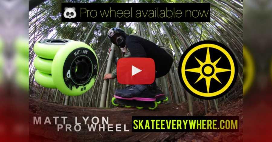 Matt Lyon - Wild in Line Skating (2021, Columbus Ohio) - Big Wheels