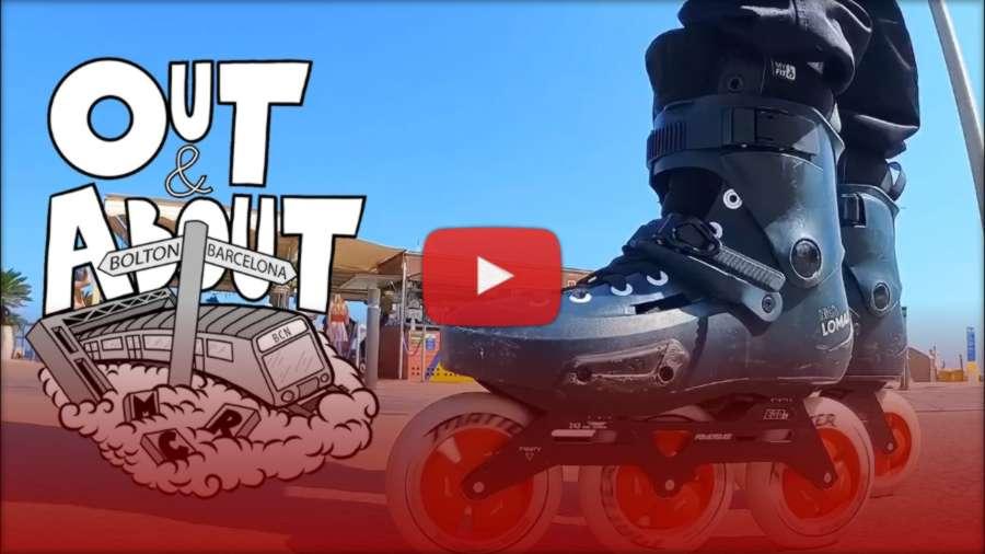 Nick Lomax - Big Wheels Blading to Badalona Skatepark with Theo & Cormac (Spain, 2021)