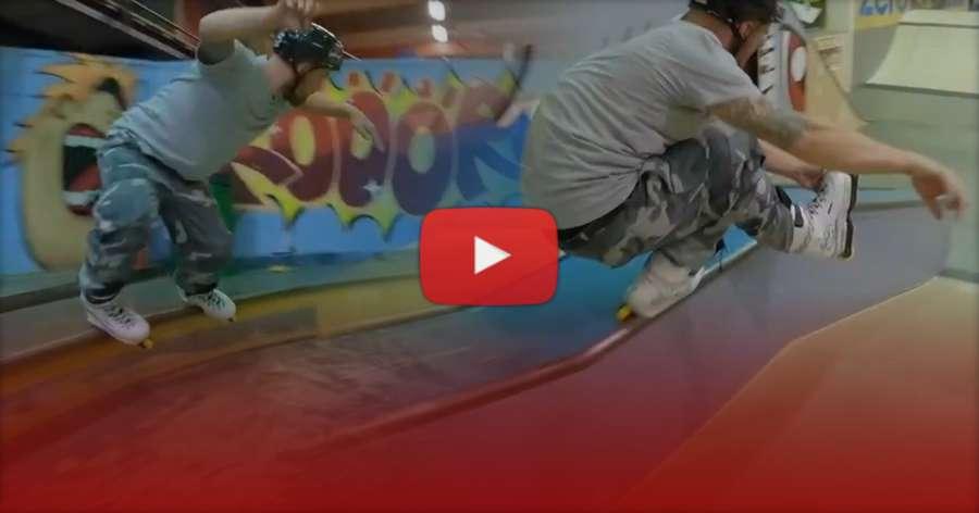 Andreas Johansson: 3 Hours Session in Eskilstuna Sweden with the Boys (Zero One Six Skatepark, 2021)