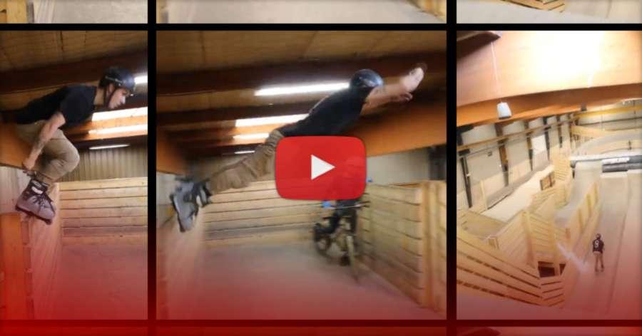 Nicolas Servy - Double Backflip Crash (Weride Park, Lyon, France 2021)