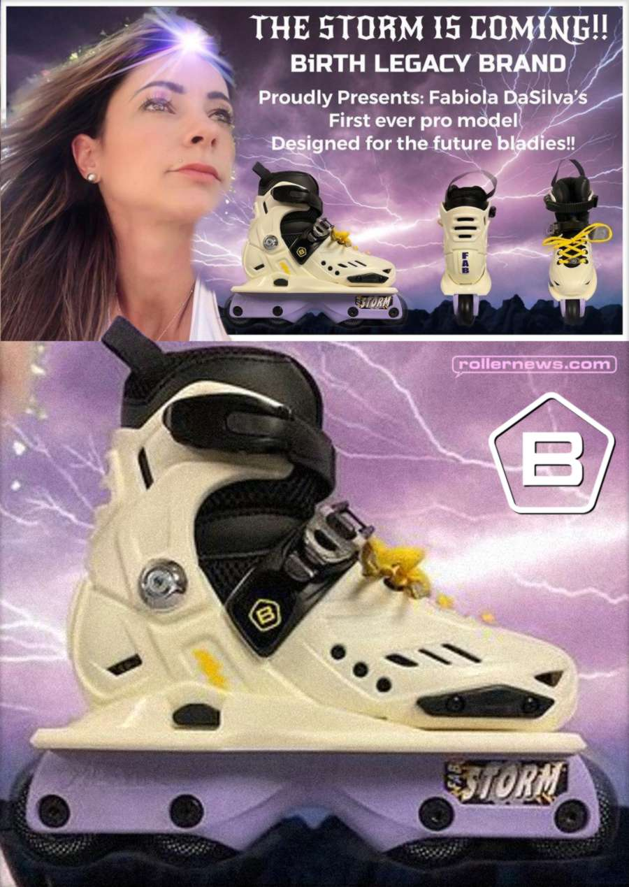 Birth Legacy - Fabiola Da Silva Pro Skates (2021)