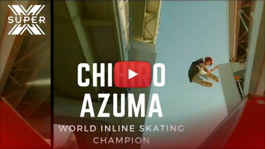 Chihiro Azuma x Super X (2021) | The amazing techniques of a world champion inline skater