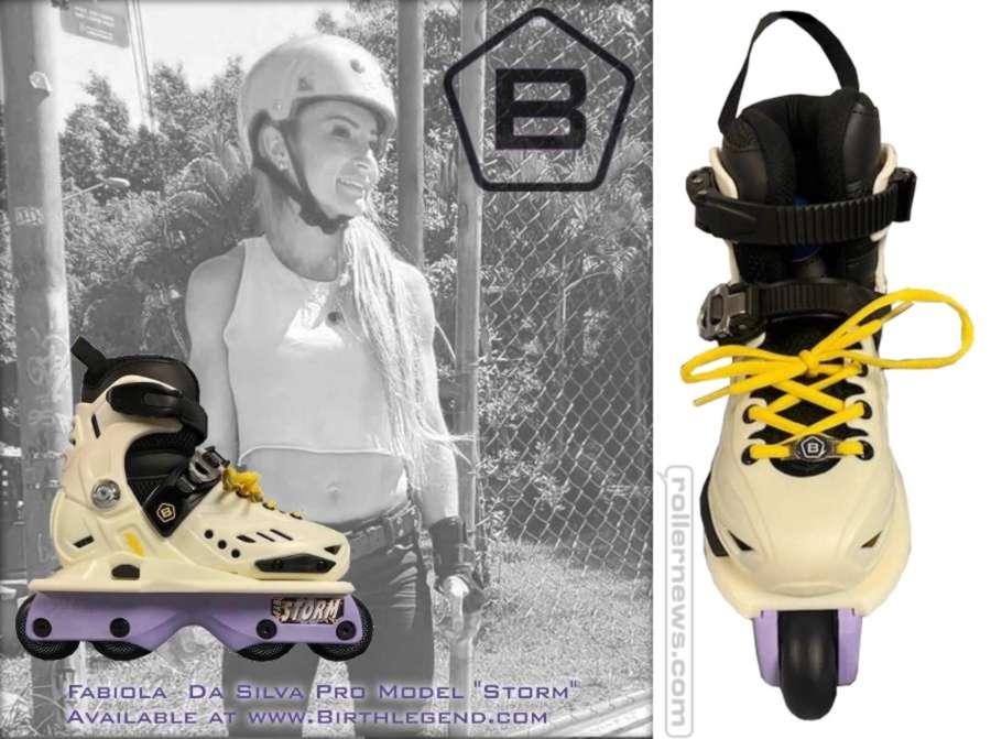 25 pairs of the Birth Legacy, Fabiola Da Silva Pro Skates were produced (August 2021)