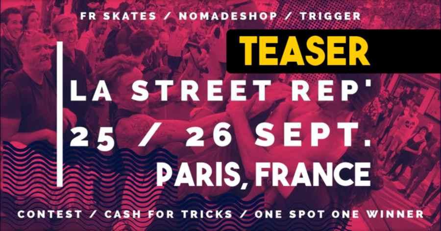 La Street Rep' (Paris, France) - Teaser