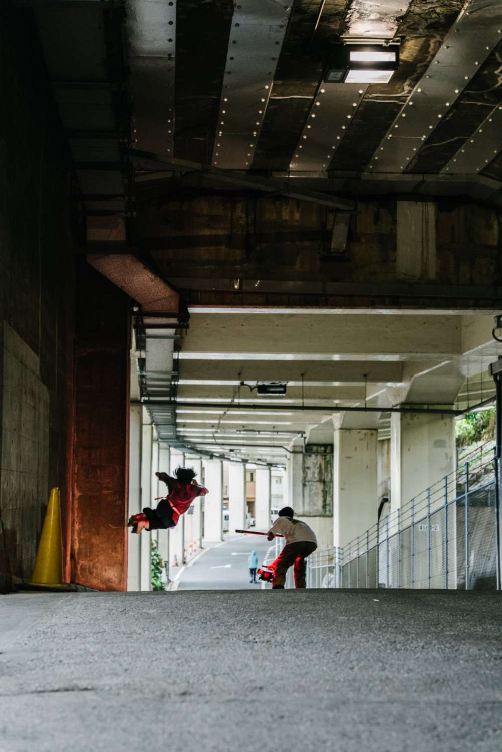 Picture of the Day: Yuto Goto (2021), filming for Concrete Dance - a photo by Ryo Takahashi