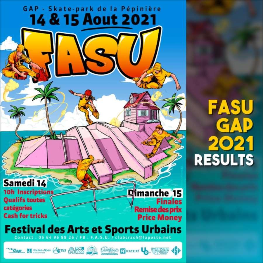 FASU 2021 (Gap, France) - Results
