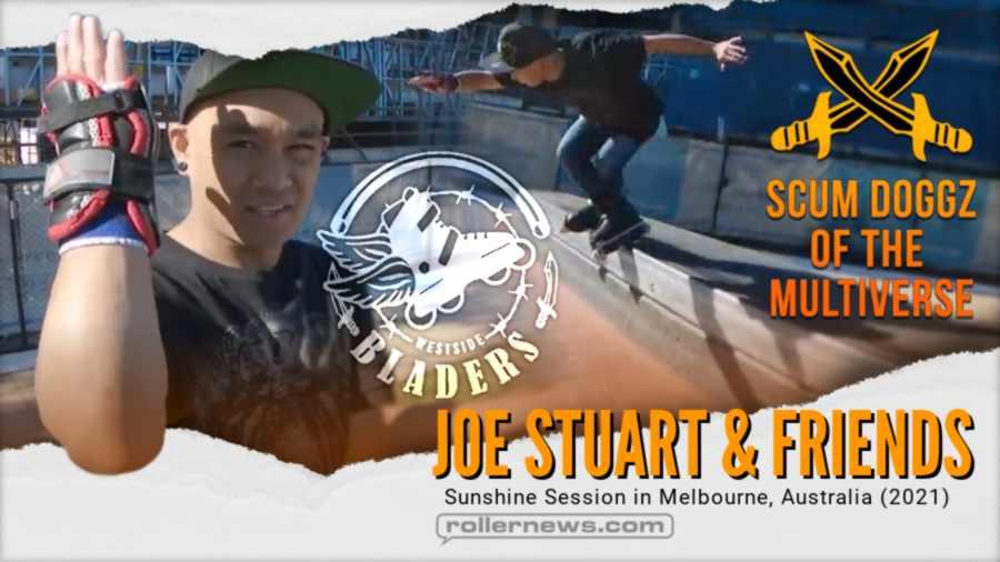 Joe Stuart & Friends - Sunshine Session in Melbourne, Australia (2021) - Inline Skating
