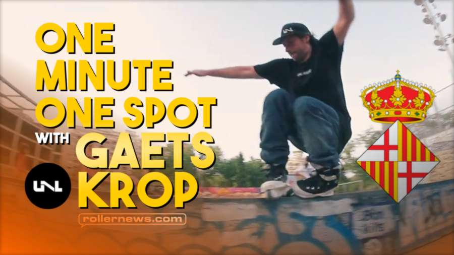One Minute, One Spot at Paral-Lel (Barcelona, Spain) with Gaets Krop (2021)