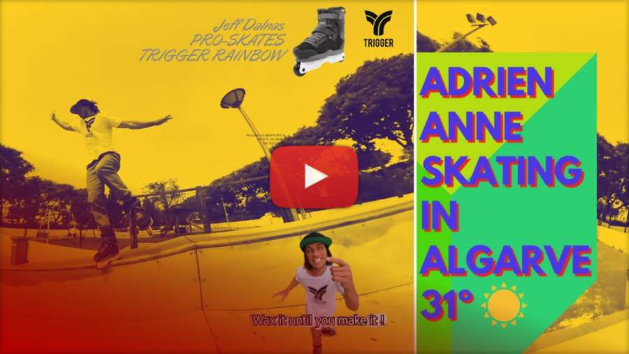 Adrien Anne - Park Skating in Portugal (2021) - Edit by Emanuel Andrade Pimentel