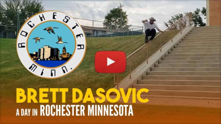Brett Dasovic - A Day in Rochester Minnesota and Basket Blading (2021)