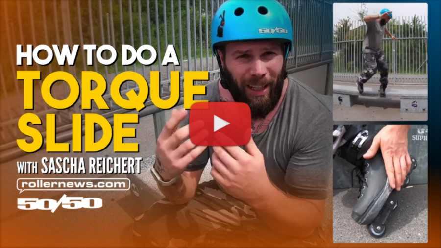 How to Do a Torque Slide - Trick Trips with Sascha Reichert
