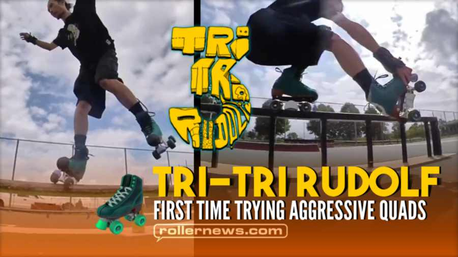 Tri Tri-Rudolf - First Time Trying Aggressive Quads (2021)