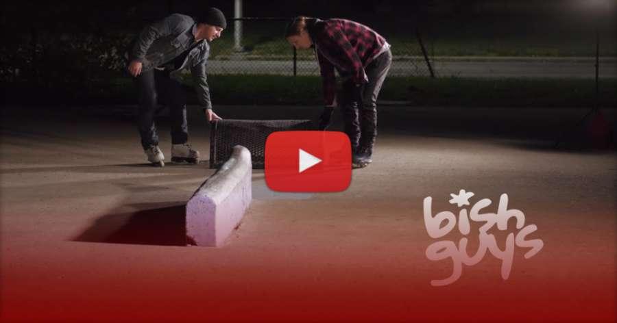 Bishguys (2021) - Koda Hult & Brian Weis - skating at the Bishop DIY Skatepark, Edit by Al Dolega