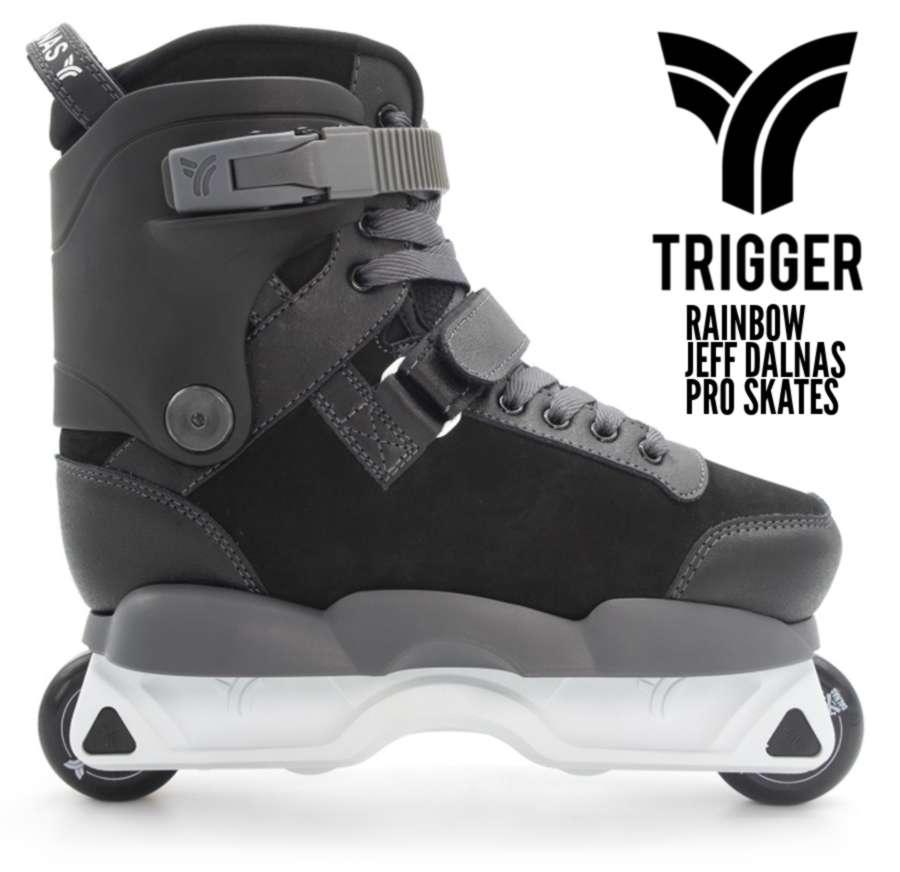 Trigger Rainbow Jeff Dalnas Pro Skates (September 2021)