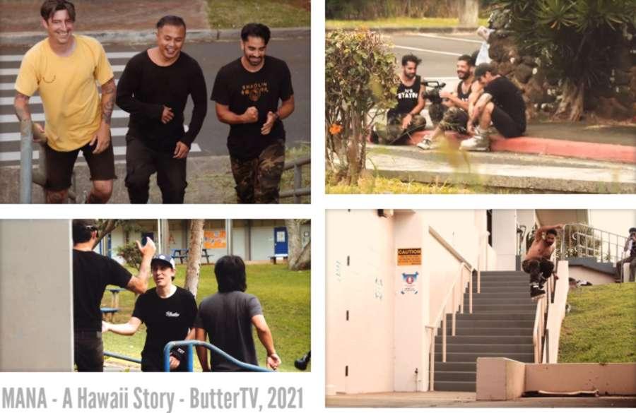 MANA - A Hawaii Story (ButterTV, 2021) - by JP Primiano, with Billy O'neill, Austin Paz & Franco Cammayo