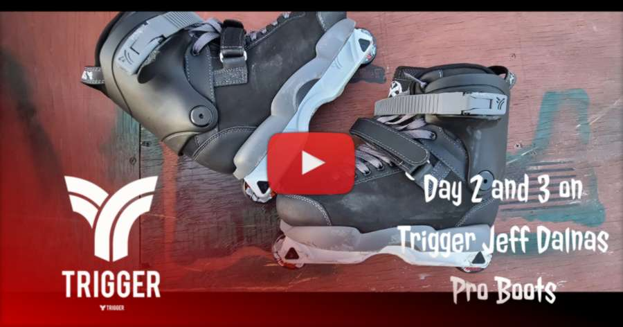 Trigger Rainbow Jeff Dalnas Pro Boot - Review Day 2 and 3 (2021) by Vintage Roller
