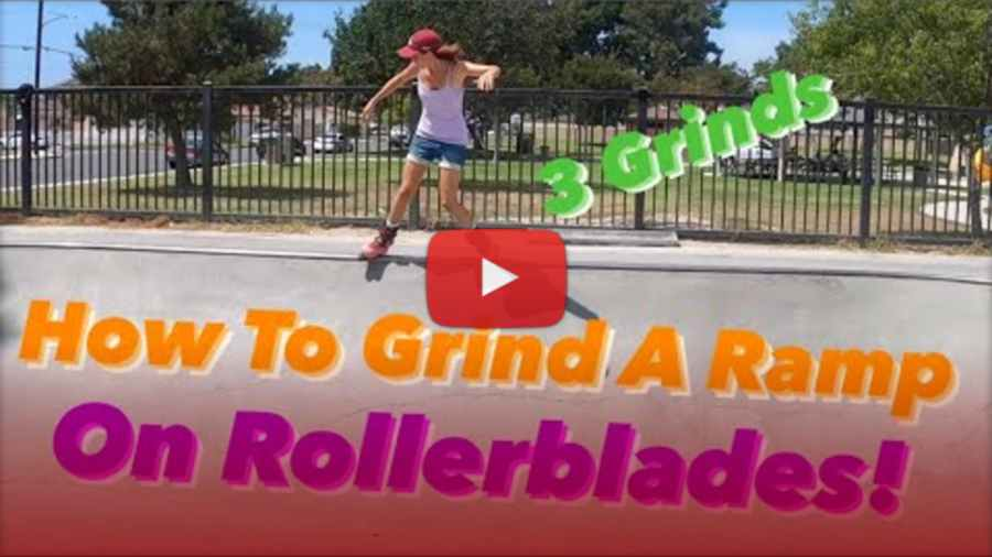 How to Grind a Ramp on Rollerblades