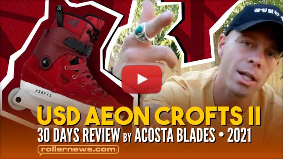 USD Aeon 60 Sam Crofts II - 30 Days Review by Josh Acosta (2021)