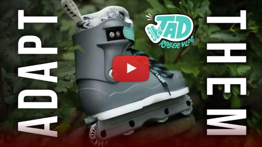 Adapt Plate on Them 908 909 Skates - Jad Rollerblading