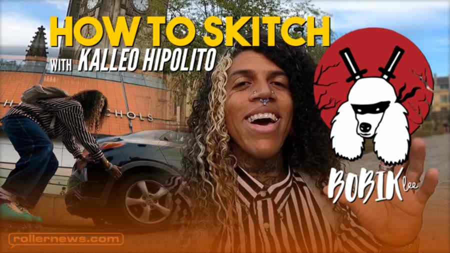 How to Skitch on Rollerblades with Kalleo Hipolito