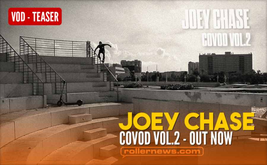 Joey Chase - COVOD Vol.2 - Out Now - Promo Video