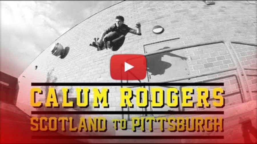 Calum Rodgers Scotland to Pittsburgh - by Stefan Brandow