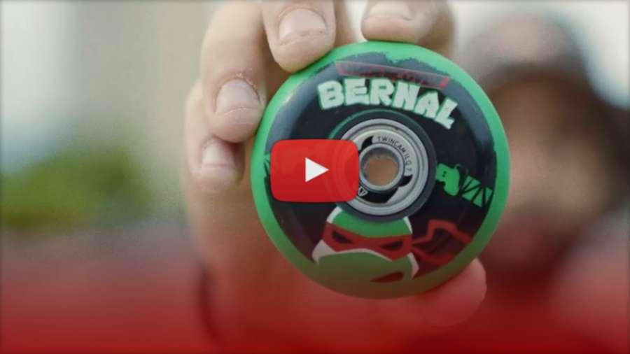 Carlos Bernal - Undercover Wheels - TV Series Pro Wheel - Teenage Mutant Ninja Turtle, Park Promo Edit (2021)
