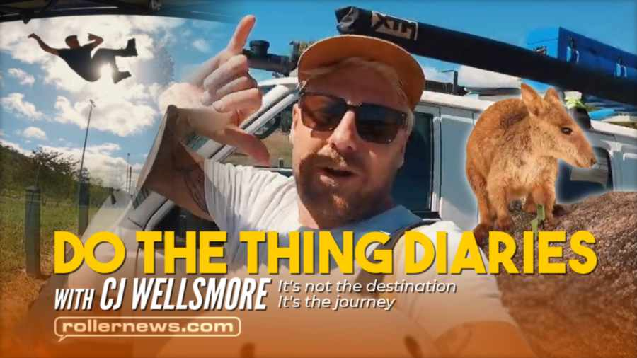 CJ Wellsmore - Do the Thing Diaries #19 - It's not the destination, Its the journey (2021)