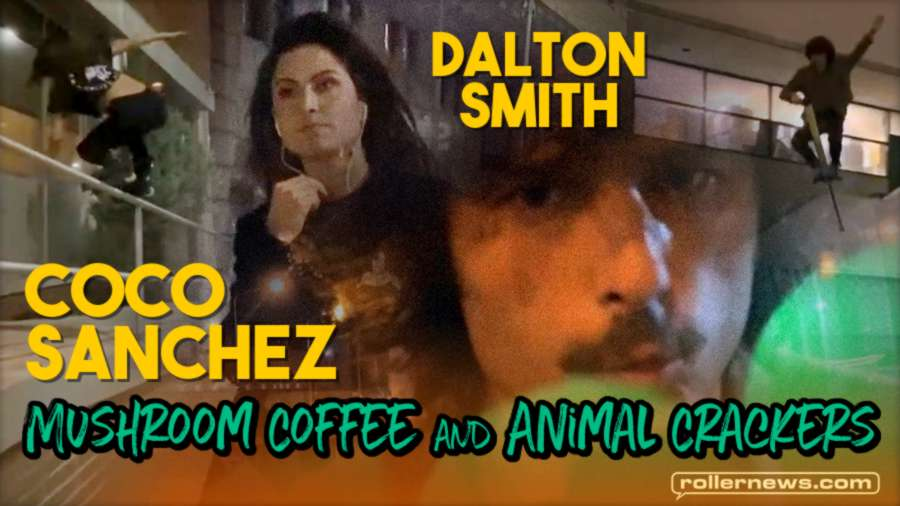 Coco Sanchez: Mushroom Coffee and Animal Crackers (2021) with Dalton Smith (world champion of pogosticking)