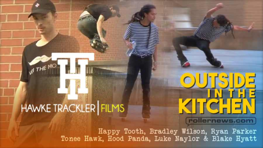 Outside in the Kitchen (2021) by Hawke Trackler, with Luke Naylor, Ryan Parker, & Friends