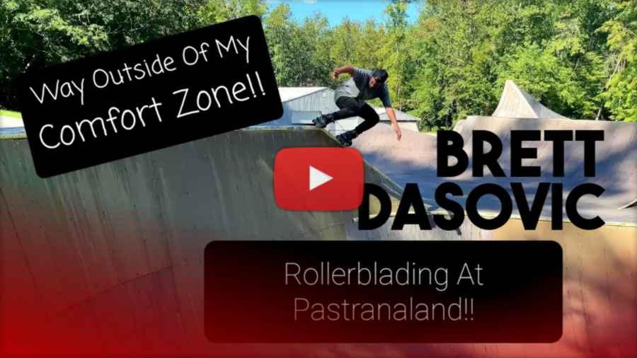 Brett Dasovic - Rollerblading at Pastranaland (2021)
