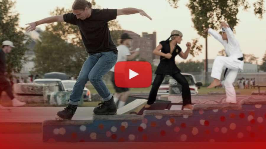 One Spot with Brian Weis - Weiscrackers (Detroit, 2021) by Al Dolega - Bishop DIY Skatepark